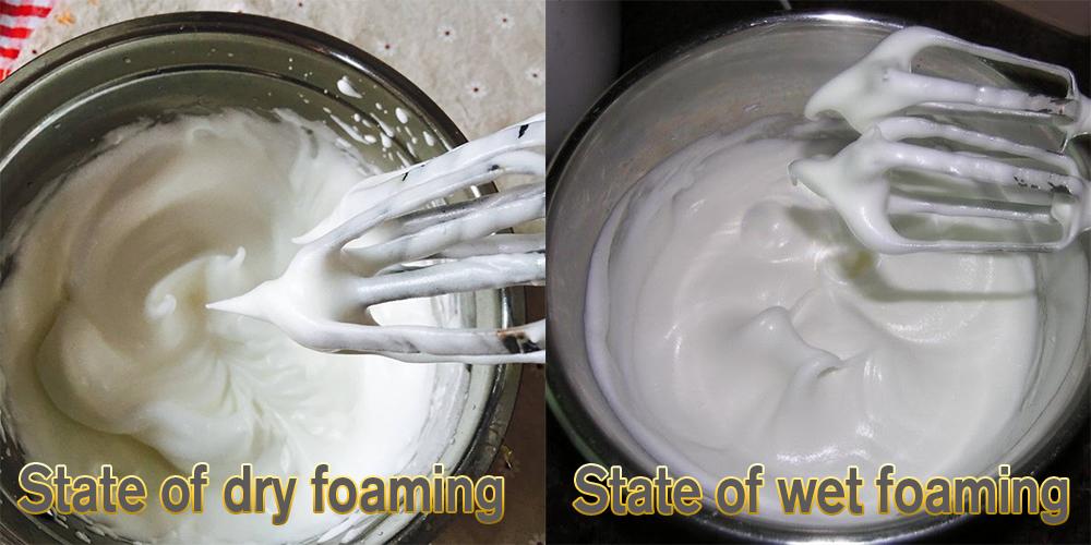 planetary mixer egg white whisking-wet and dry